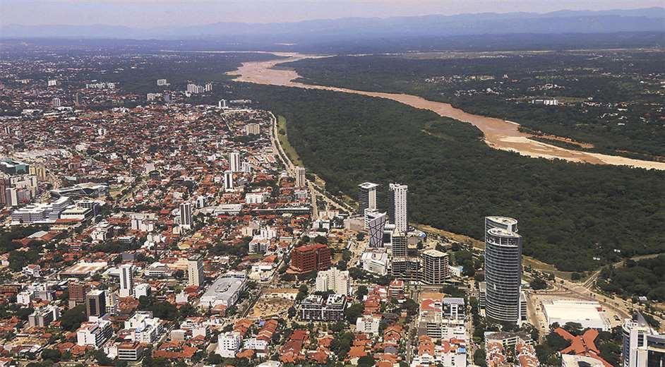 Santa Cruz es el departamento que más crece y la ciudad tiene 600 barrios sin regularizar