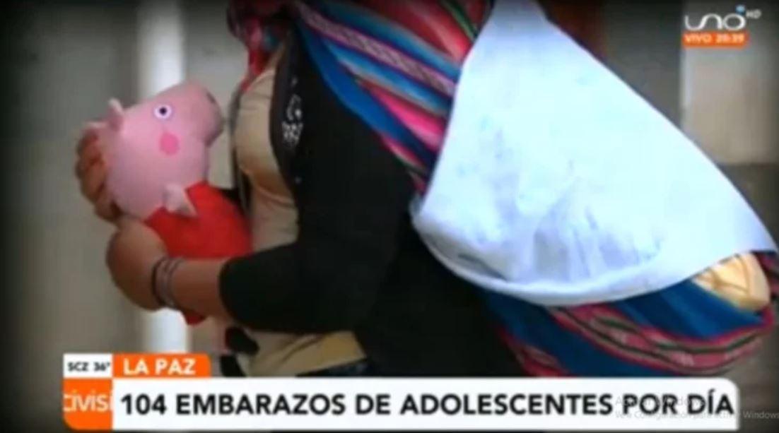 Sistema Nacional de Información registra más de cien embarazos al día de adolescentes en Bolivia