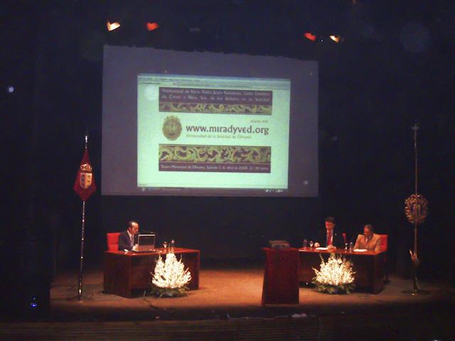 PRESENTACION DE LA WEB HERMANDAD DE LA SOLEDAD