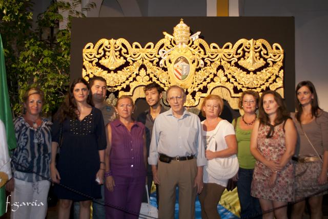 PRESENTACIÓN DE LA BAMBALINA DELANTERA DEL NUEVO PALIO DE LA VIRGEN DE LOS DOLORES