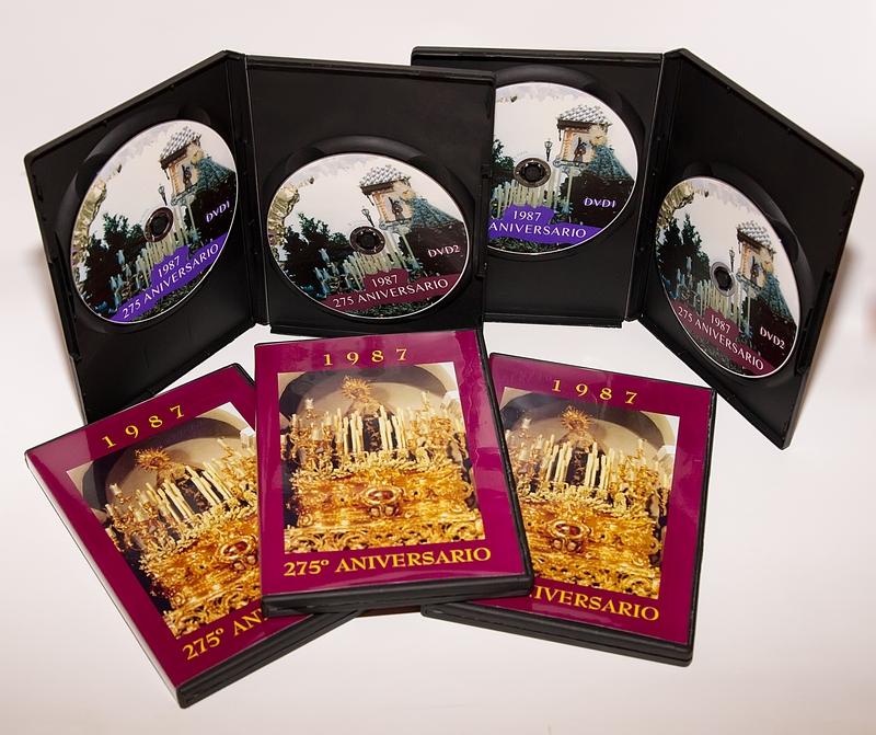 YA ESTÁ A LA VENTA EL DOBLE DVD CON LOS VÍDEOS DEL 275º ANIVERSARIO DE LA HERMANDAD