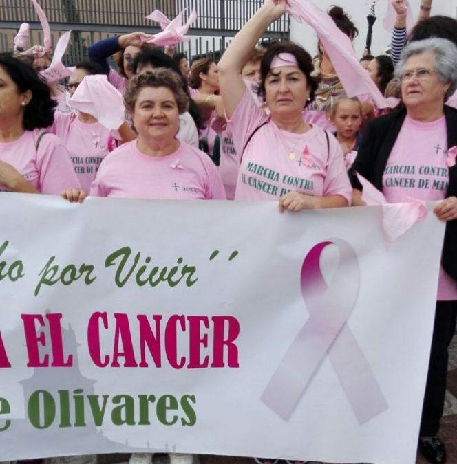 III MARCHA CONTRA EL CÁNCER DE MAMA EN OLIVARES