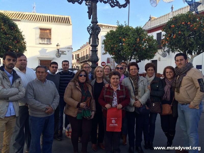 LA HERMANDAD DE LA SOLEDAD DE OLIVARES SE SUMA A LA CAMPAÑA DE NAVIDAD DE CÁRITAS