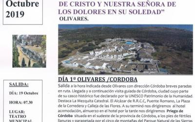 LA HERMANDAD DE LA SOLEDAD DE OLIVARES RUMBO A PRIEGO DE CÓRDOBA
