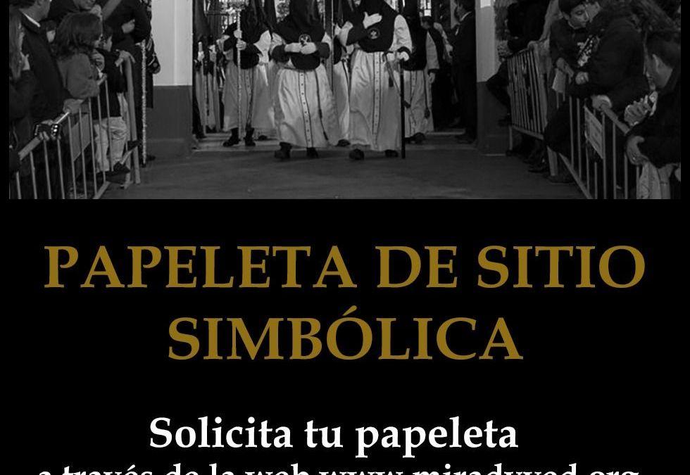 PAPELETA DE SITIO SIMBÓLICA