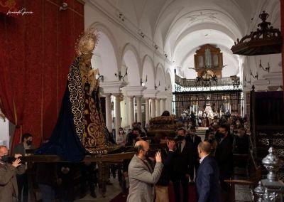 Traslado Cristo Yacente y Virgen de los Dolores 2021
