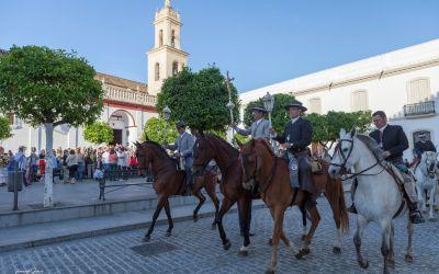 FRATERNO SALUDO DE NUESTRA HERMANDAD A LA HERMANDAD DE NUESTRA SEÑORA DEL ROCÍO DE OLIVARES