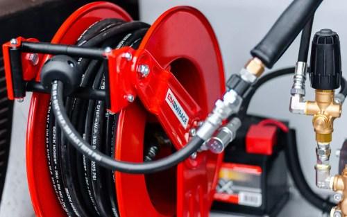 close up enrouleur haute pression automatique webpage