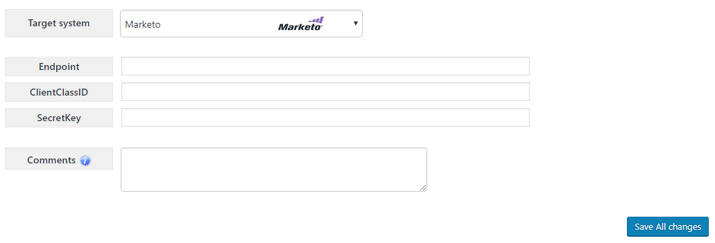 MiragetConnector - Marketo