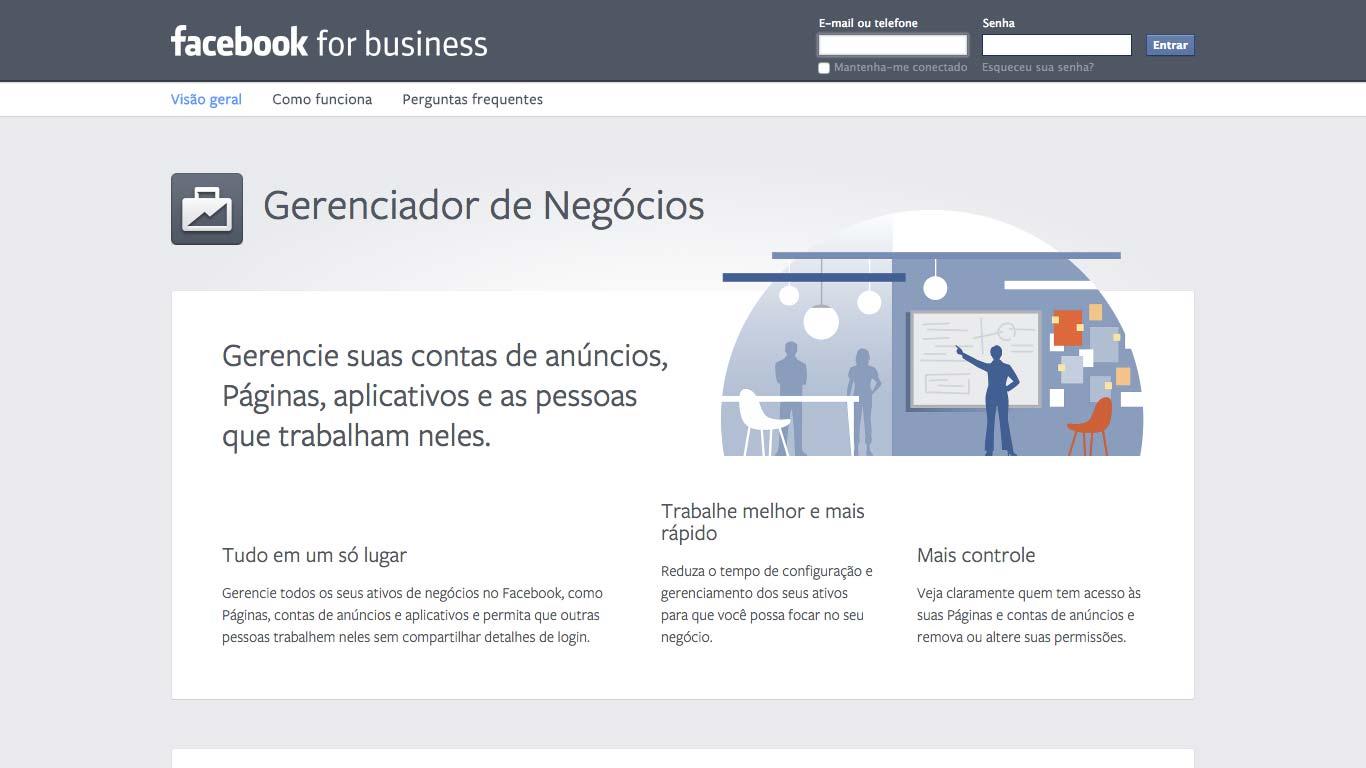 Configurando o Facebook Business Manager