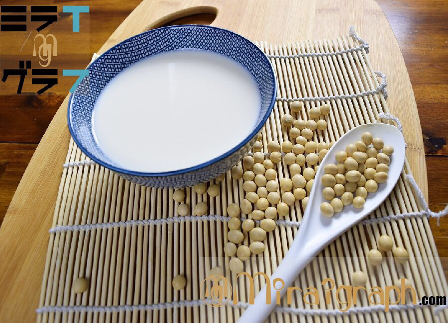豆乳は『畑のミルク』美肌と健康的な体を手に入れられる!!10月12日は豆乳の日『今日というミライグラフ365』