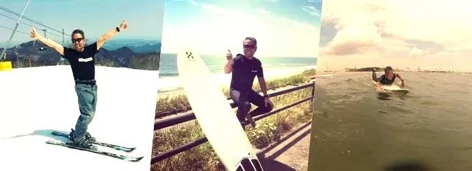 スキー・サーフィン