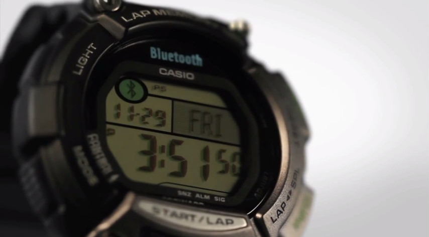 By Bluetooth(R) SPORTS GEAR STB-1000 - CASIO