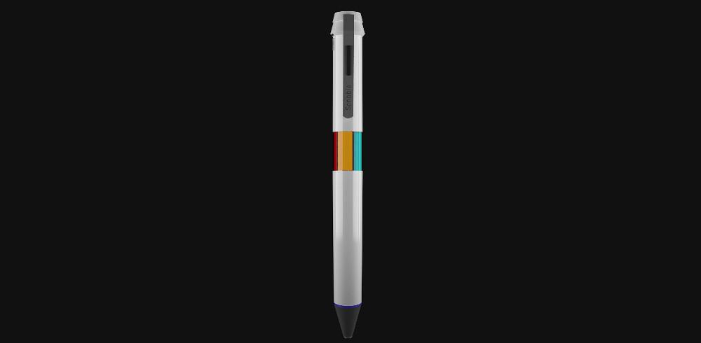 """「世界」の色で絵を描くよ。触れた物の色がインクになるペン""""Scribble"""""""