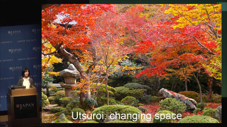 Utsuroi: changing space