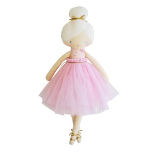 AR Amelie Ballet - Pink Floral 52cm