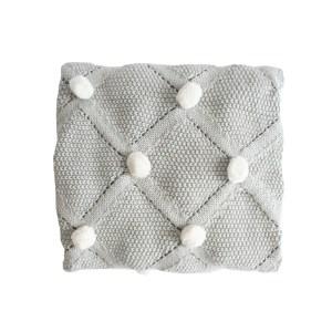 AR Blanket Pom Pom - Grey