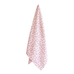 AR Muslin Swaddle - Starry Night Pink 2