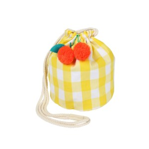 MM Cherry Gingham Bag