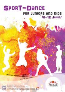 Neuer Kurs im Tanzstudio Miral - Sport-Dance for Juniors and Kids. Moderne Tanzbewegungen zu den letzten Musikhits