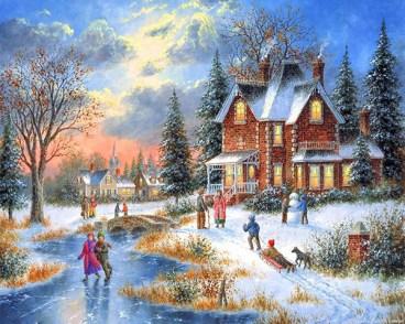 Дети зимой - картинки в miranimashek.com