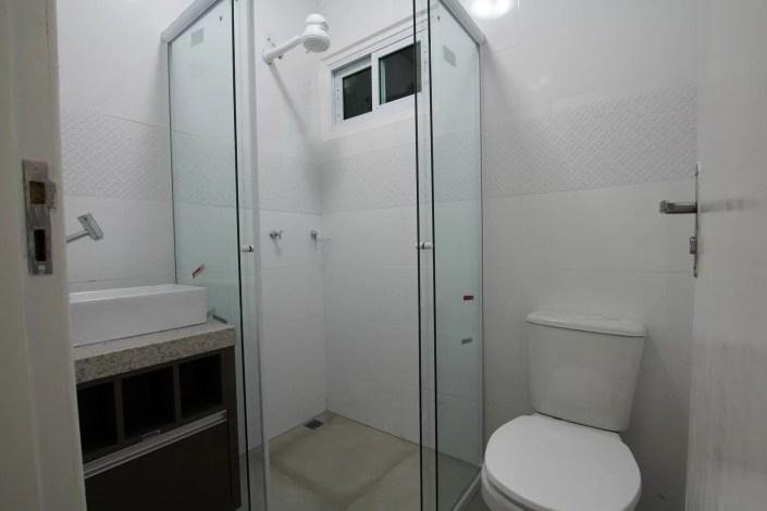 Banheiro da casa container