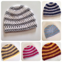 Team Colored Newborn Baby Hats