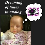 Sleeping Lilly Dreaming of Music