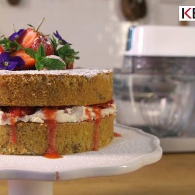 Kenwood Disaster Chef – Walnut Cake