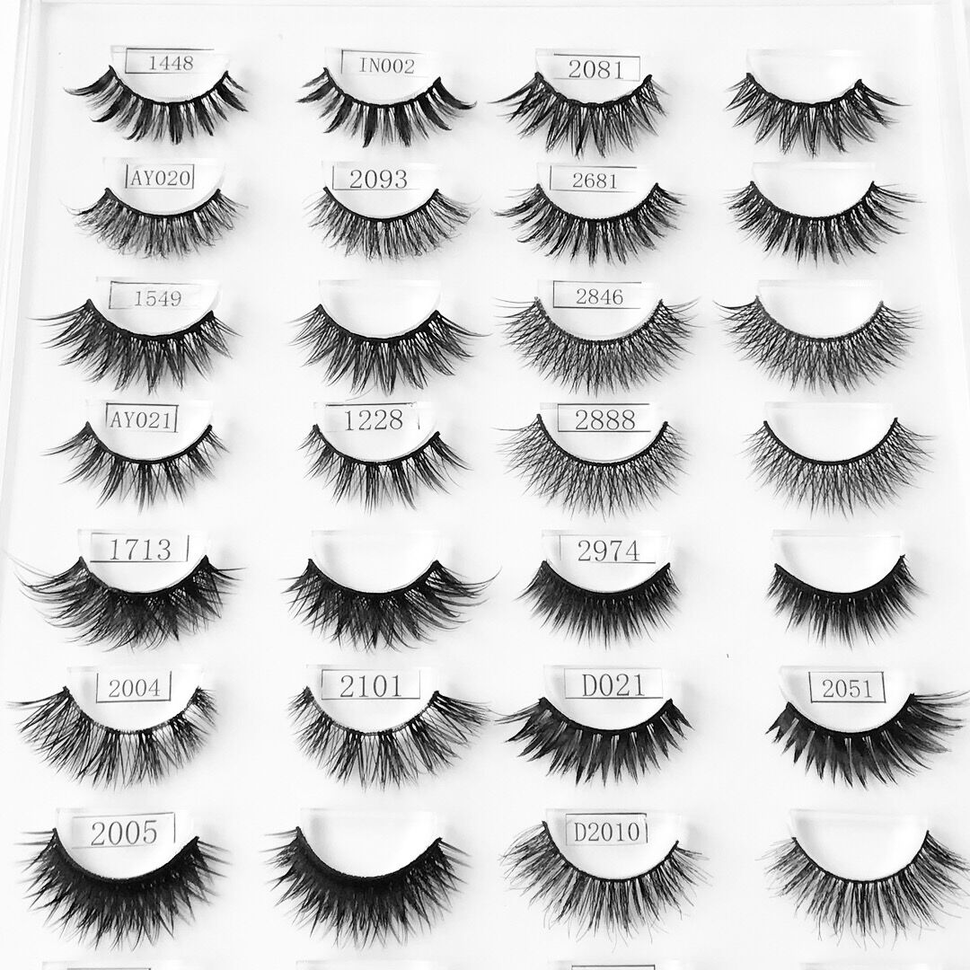 3d Synthetic Lashes Collection