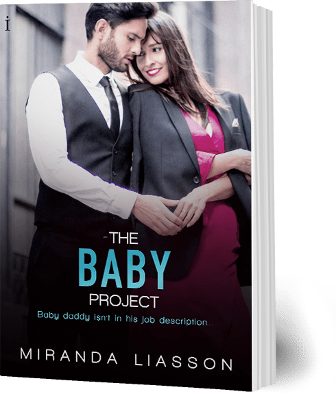Book cover: The Baby Project by Miranda Liasson