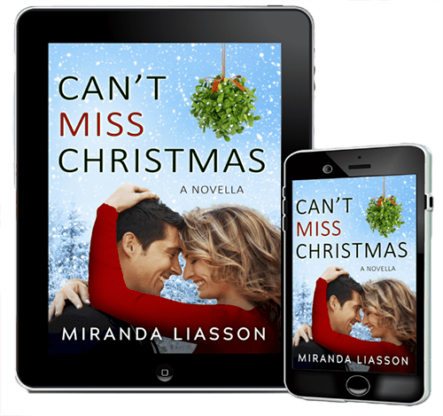 Receive Miranda Liassom's Christmas Novella FREE for a limited time this Christmas! Signup now.