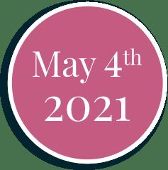 Coming May 4th 2021