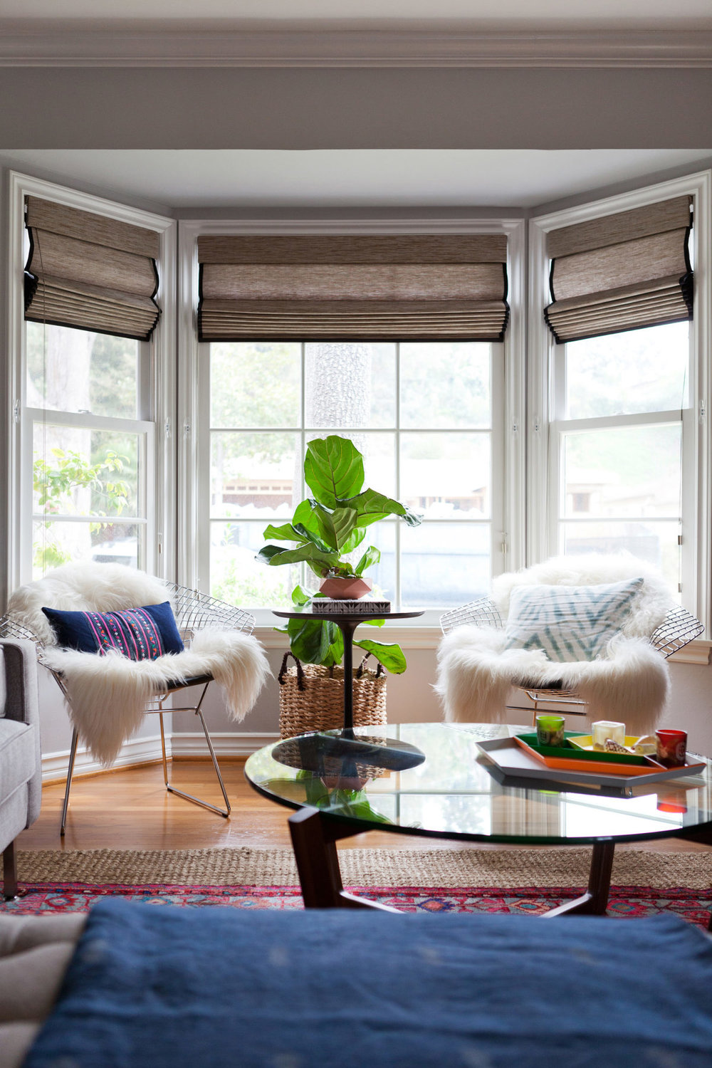 How to Style a Bay Window | Miranda Schroeder