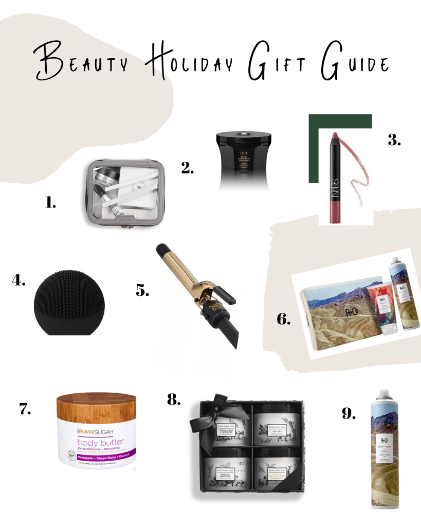 Holiday Gift Guide for the Beauty Lover | Miranda Schroeder Blog  From hair products, to makeup and skincare items, I've rounded up a few of my very favorite things that make great Christmas gifts for the health and beauty lover!  www.mirandaschroeder.com