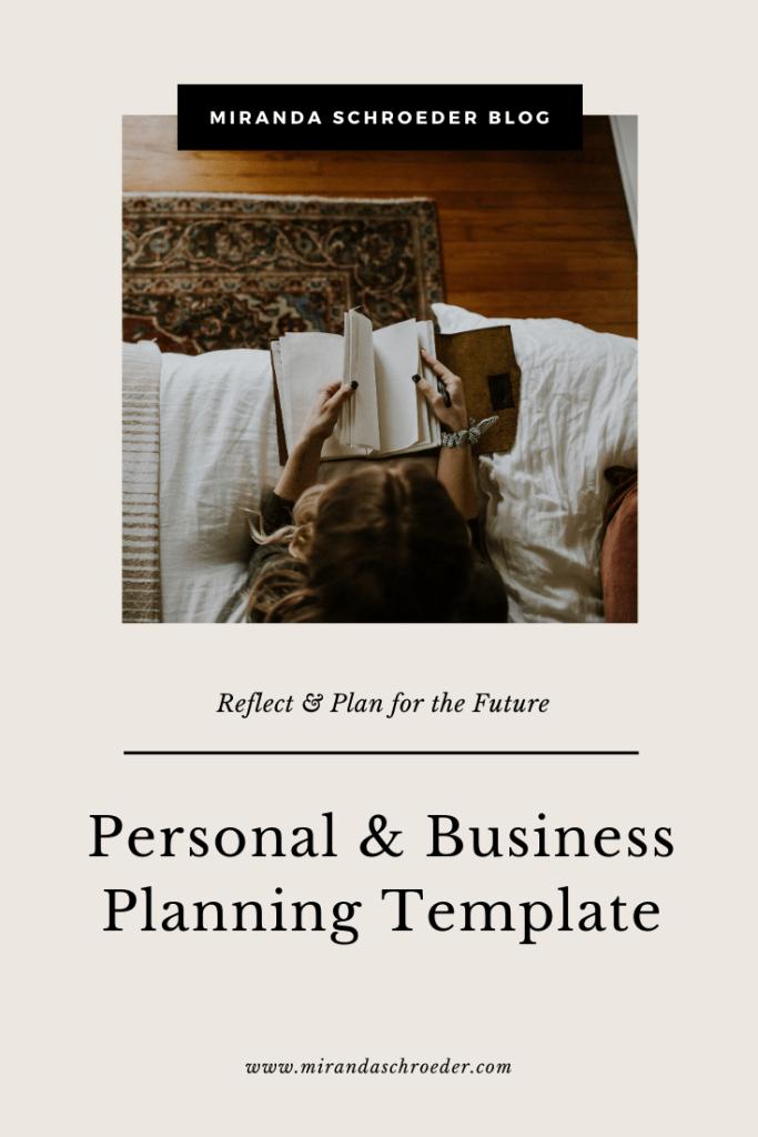 A Vulnerable Look into my 2020 Goals & Resolutions | Miranda Schroeder Blog  https://mirandaschroeder.com/  #goals #goalsetting #planning #planningtemplate