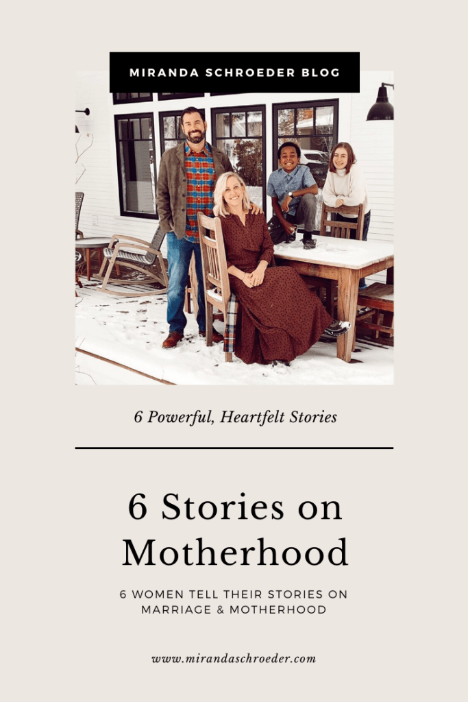 From Marriage to Motherhood: 6 Women Tell Their Stories  www.mirandaschroeder.com