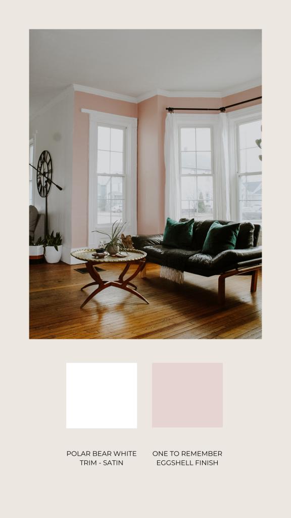 Blush Pink Paint Colors: As Seen on Instagram | Miranda Schroeder Blog  www.mirandaschroeder.com