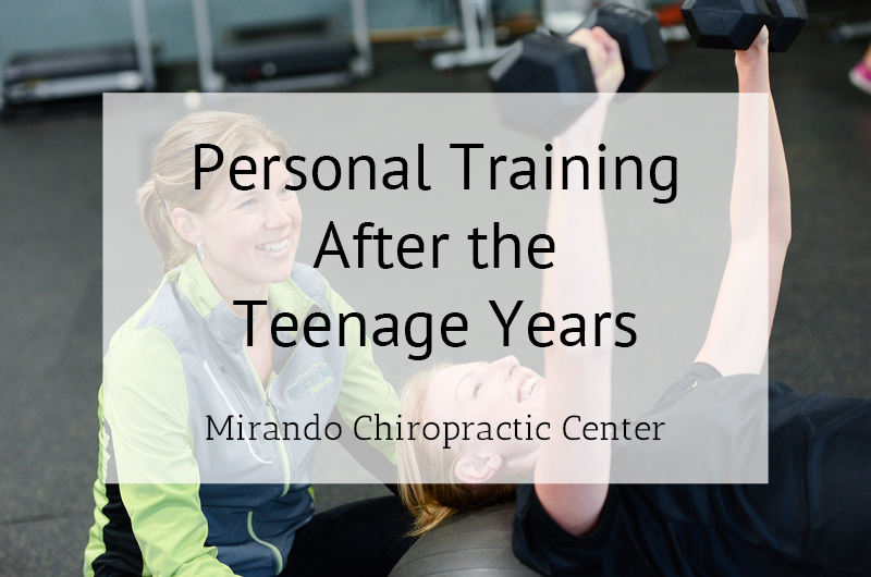 Personal Training After the Teenage Years