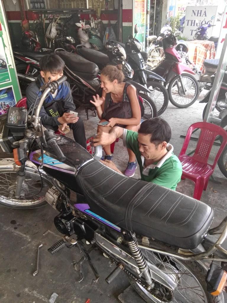 Compra de moto en Vietnam