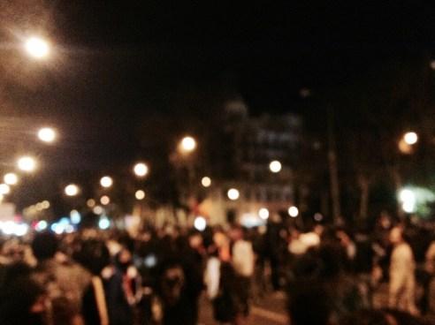 manifestación 22M
