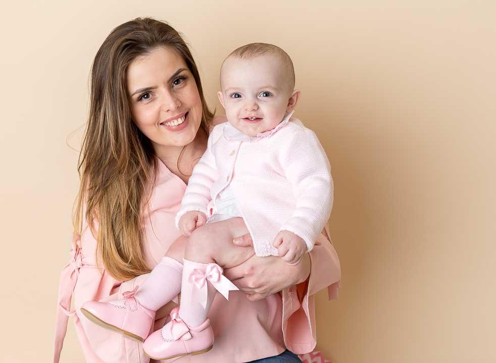 mum and baby photograph