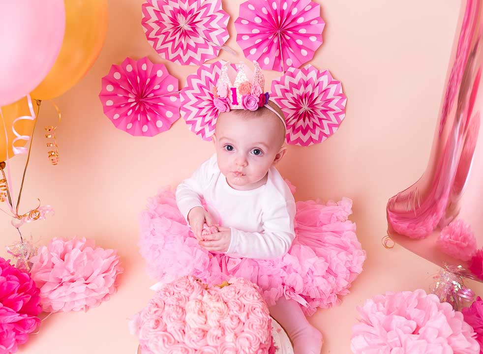 Admirable Cake Smash 1St Birthday Photography London Photographer Enfield Funny Birthday Cards Online Aeocydamsfinfo