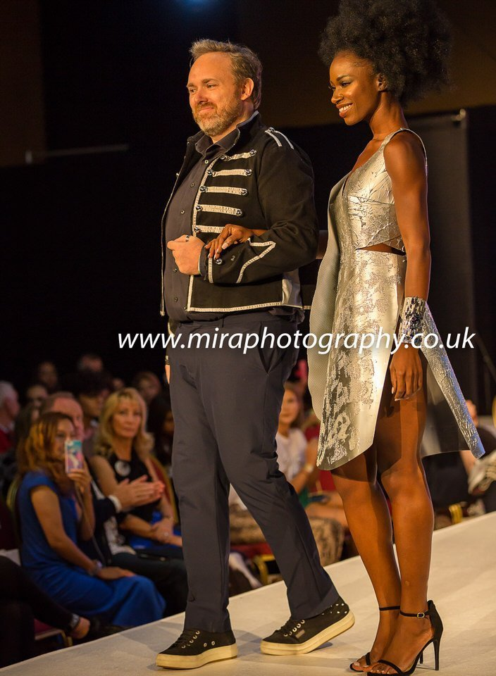 London photographer House of Ikons London Fashion Show models modelling clothes www.miraphotography.co.uk