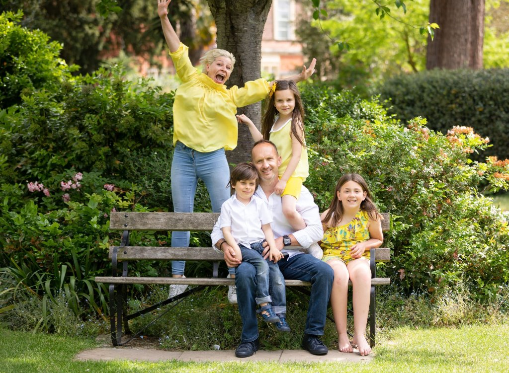 Family Photographer London Enfield taking family photos