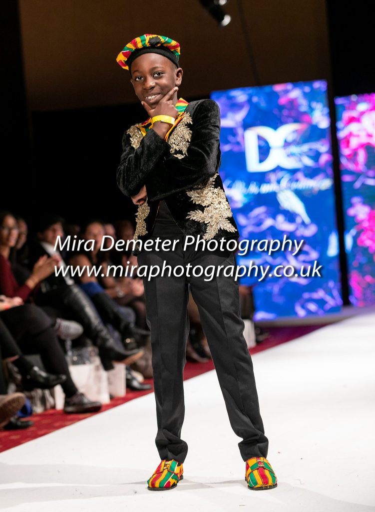 Fashion catwalk London Mira Demeter Photography