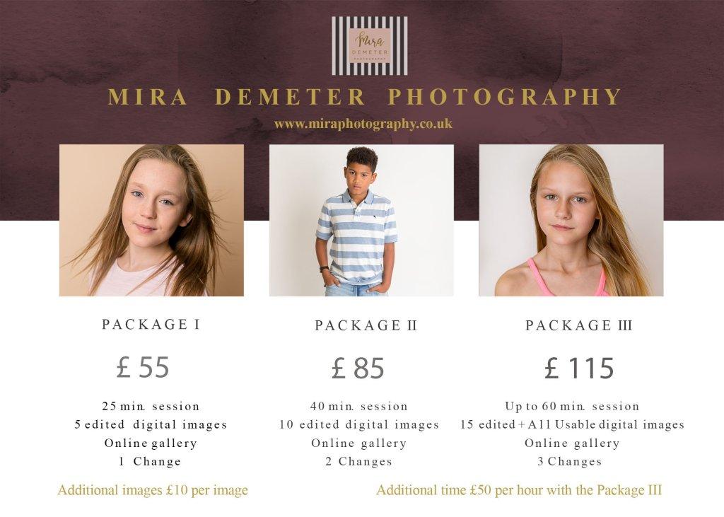 Child model actor headshot portfolio update London Enfield Photographer