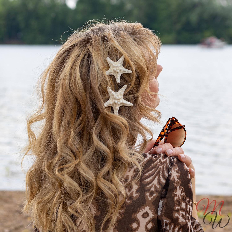 Muscheln Haarspangen