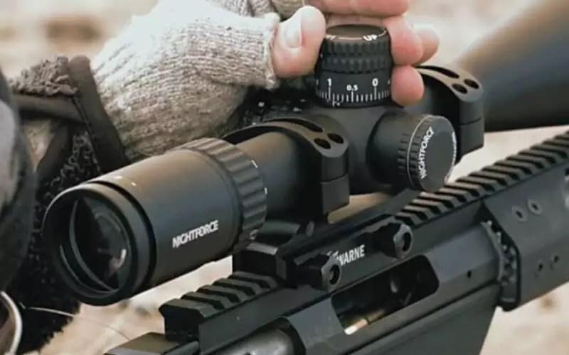 como utilizar una mira telescopica