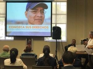 Realizan Charla Informativa para conocer los derechos de los inmigrantes en Tampa